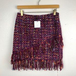Zara Skirts - NWT Zara Multicolored Tweed Mini Skirt S